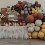 Comunión de José Daniel: una decoración elegante y cálida para un día muy especial