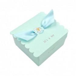 JZK® 50 x Recuerdos cajas regalo bombones de boda baby shower cumpleaños graduación Navidad comunión partido o varias ocasion