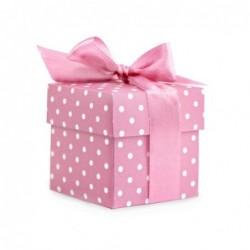 10pequeñas cajas de regalo, color rosa
