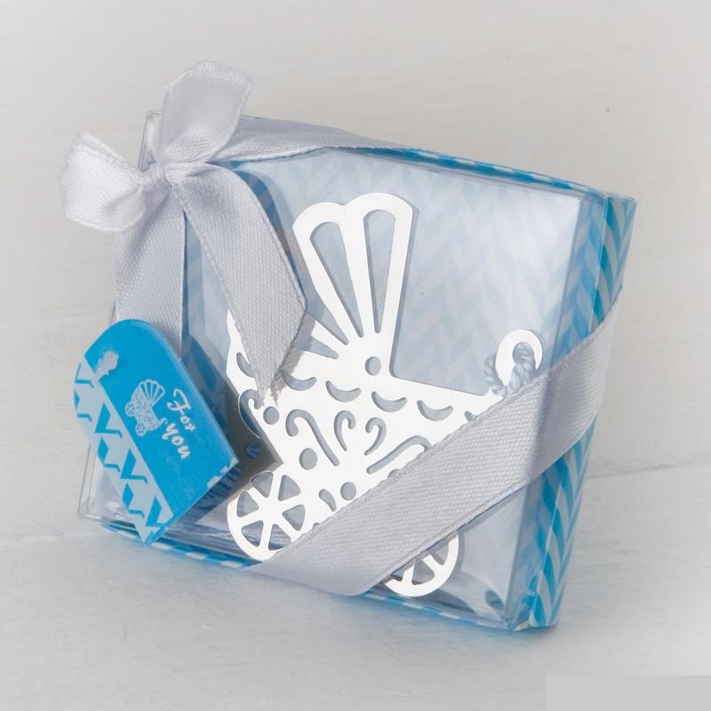 marcapáginas carrito bebé regalo detalle invitados babyshower baby shower Madrid