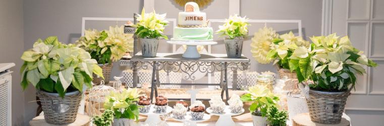 Decoración mesa dulce